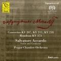 Wolfgang Amadeus Mozart: Violin Concertos, K. 207, K. 211, K. 218 & Rondeau, K. 373