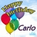 Happy Birthday Carlo