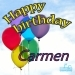 Happy Birthday Carmen