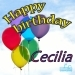Happy Birthday Cecilia
