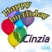 Happy Birthday Cinzia