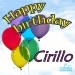 Happy Birthday Cirillo