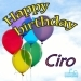 Happy Birthday Ciro