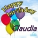 Happy Birthday Claudia