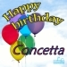 Happy Birthday Concetta