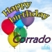 Happy Birthday Corrado