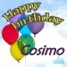 Happy Birthday Cosimo