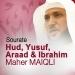Sourates Hud, Yusuf, Araad et Ibrahim