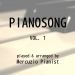 Pianosong, Vol. 1