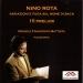Nino Rota : Variazioni e fuga sul nome di Bach - Quindici preludi